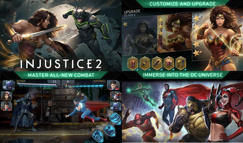 Injustice best hd games android