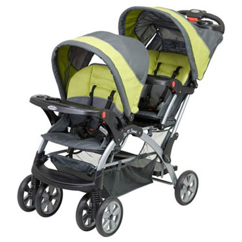 Best Sit N Stand Double Stroller