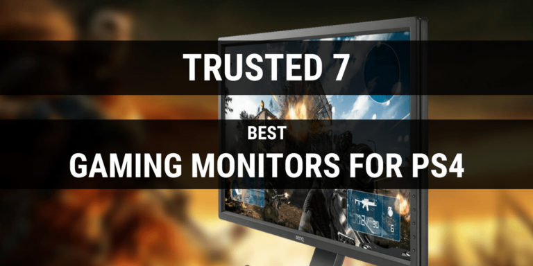 10 Best Gaming Monitors for PS4 Pro & XBox One X (Buying